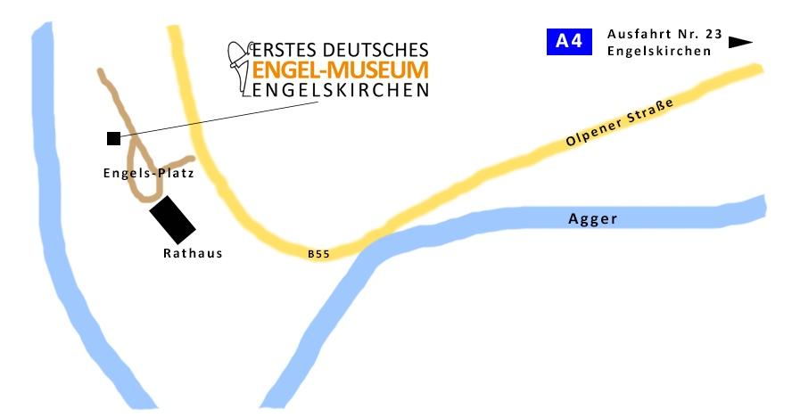 Karte Engelskirchen